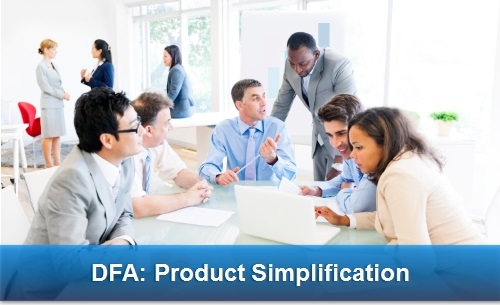 DFA Product Simplification